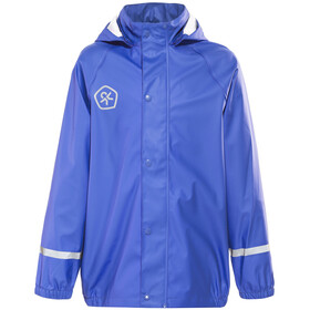 Color Kids Vatum PU Rain Jacket Dazzling Blue